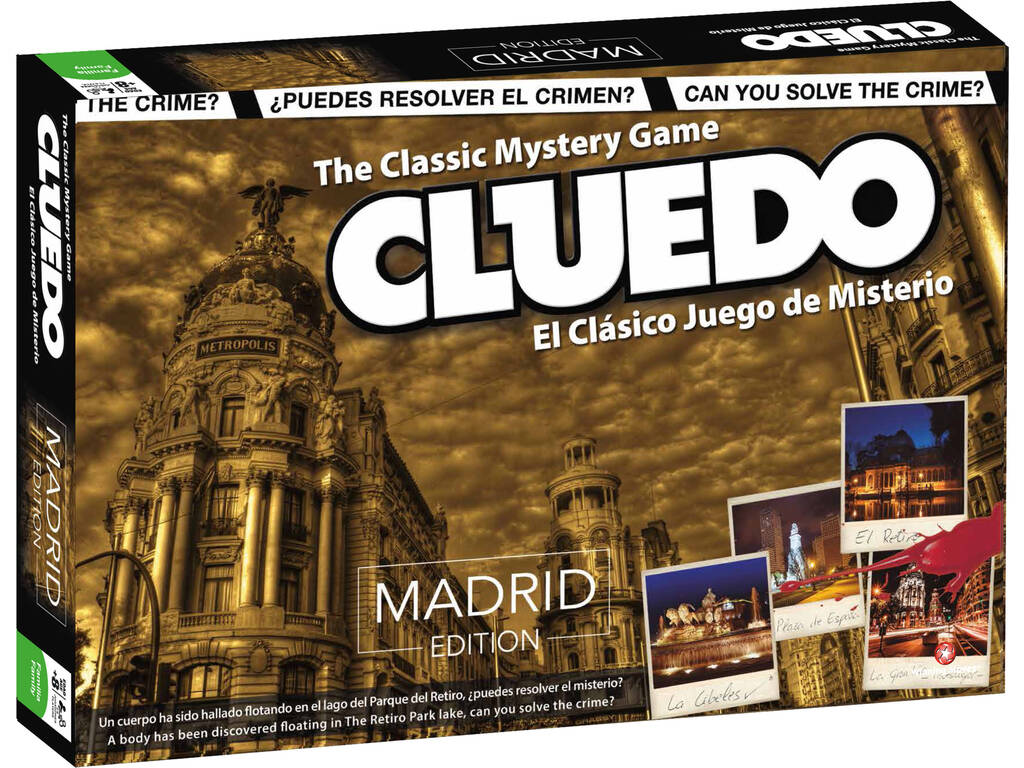 Cleudo Madrid Eleven Force 82226