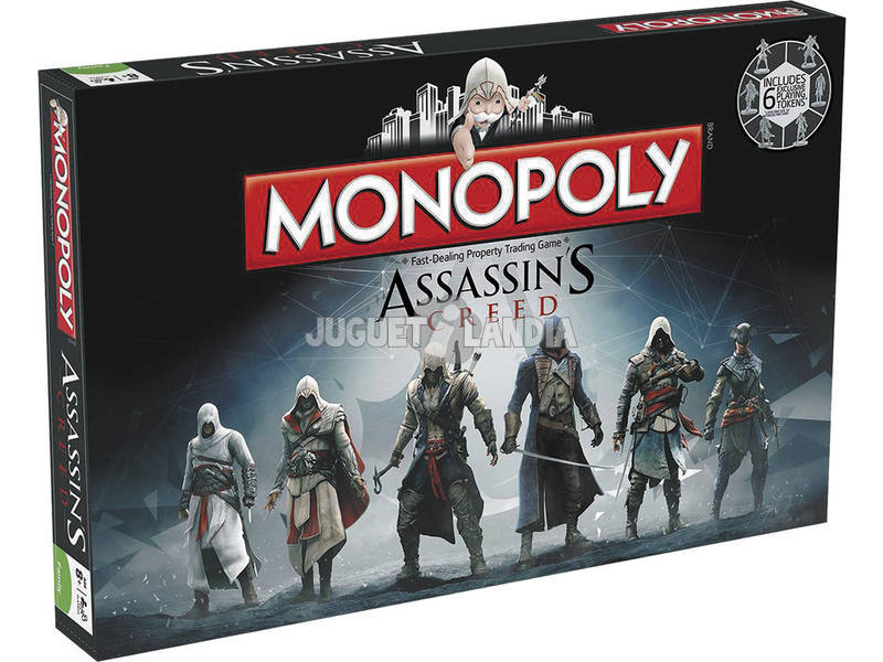 Monopoly Assasins Creed Eleven Force 82837