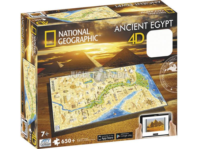 Puzzle 4D Civilizaciones Antiguas Egipto