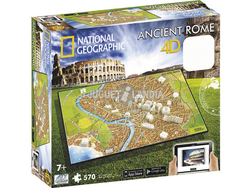 Puzzle 4D Civilizaciones Antiguas Roma