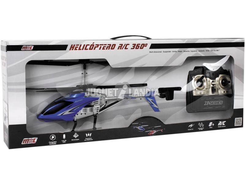 Radio Control Helicoptero 43 cm. Con Luz 27 MHZ.