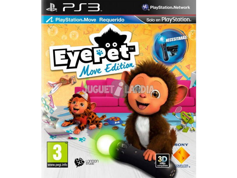 PS3 Eye pet move edition