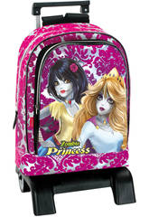 Day pack trolley con Principesse Zombie