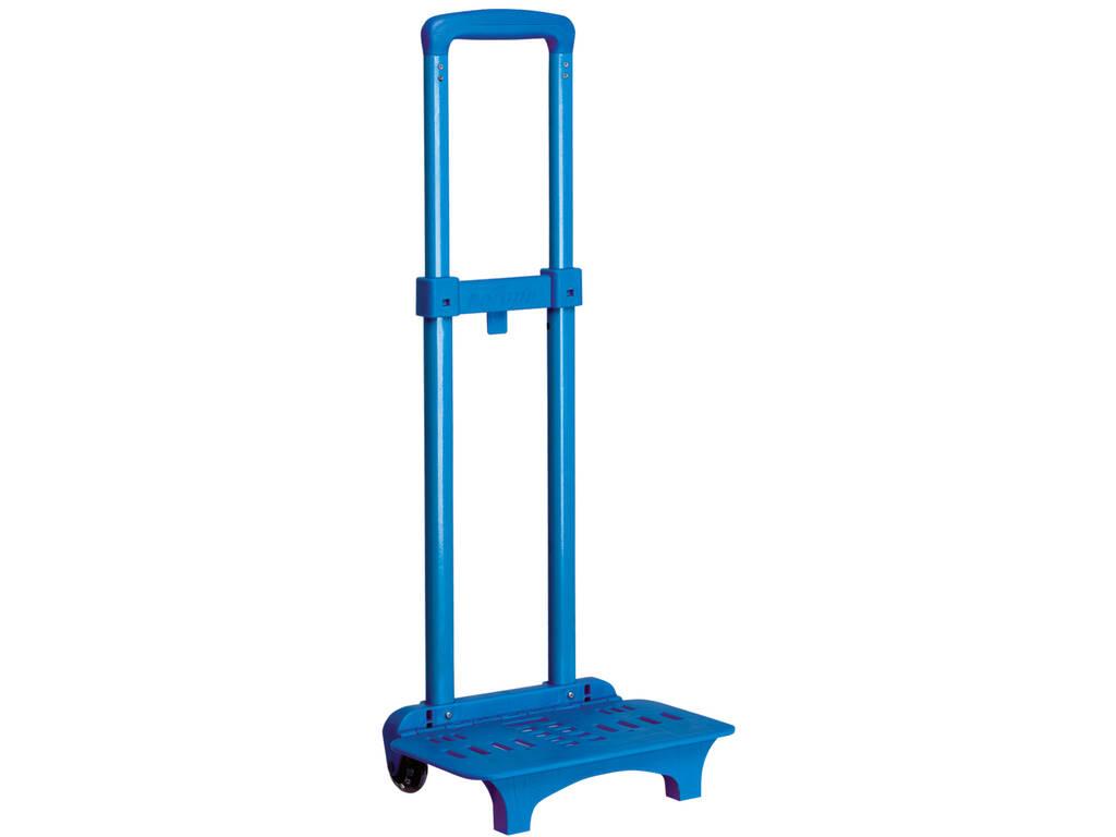 Carro Portamochilas de Color Azul Perona 51527