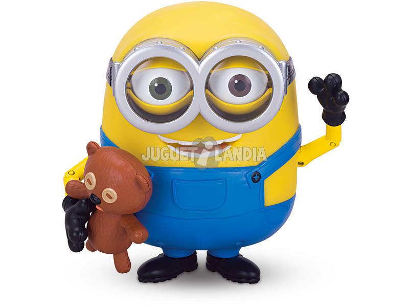 Minions Bob Bavard 19 cm et son Ours en peluche