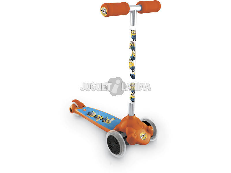 Patinete Twist n Roll 3 Ruedas Minion Made