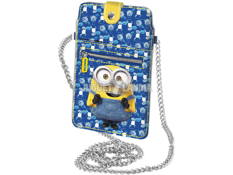 Minions Bolso Movil Slim Googles