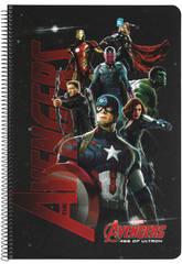 Libreta Folio Tapas Duras 80 h. Avengers AOU