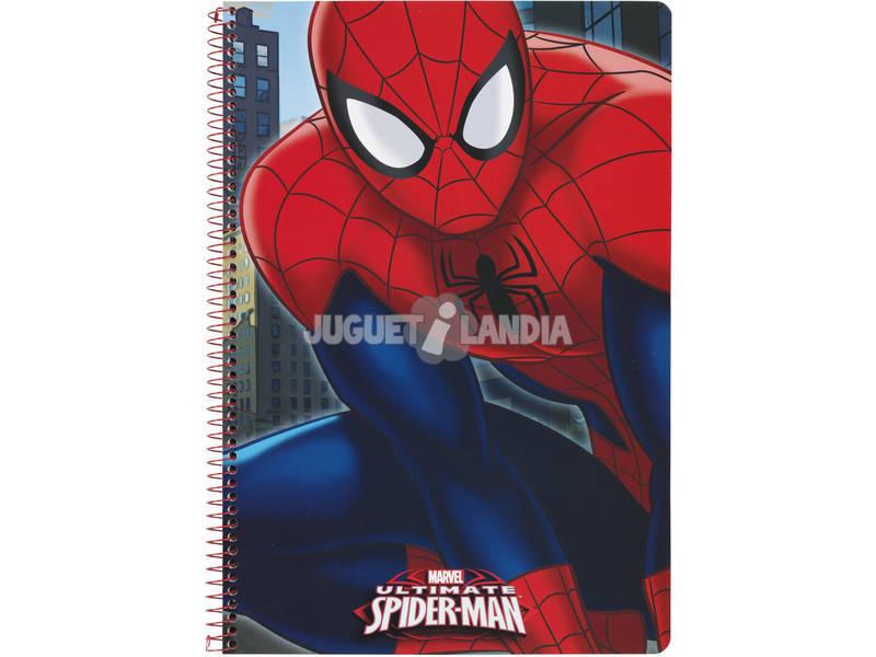 Caderno Capa Dura 80 f. Spiderman