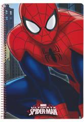 Cahier Couverture Dure 80 Feuilles Spiderman