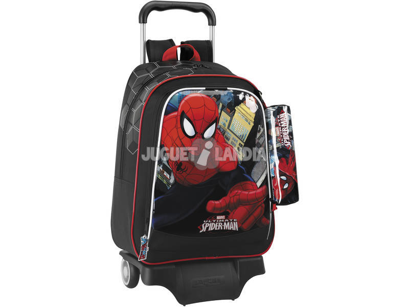 Mochila Grande con Ruedas Spiderman