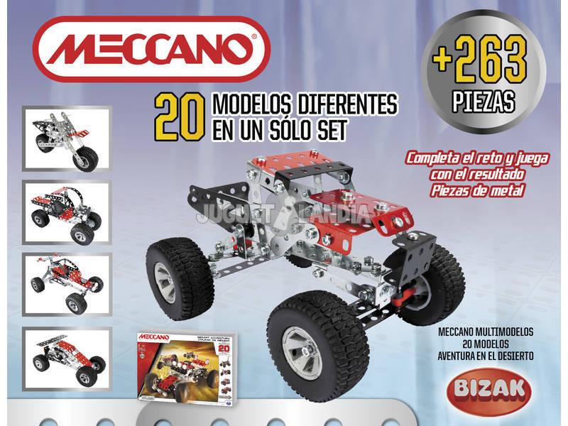 Meccano 20 Aventura Desierto