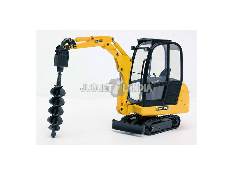 Mini Escavadora JCB 8016 com Perfurador