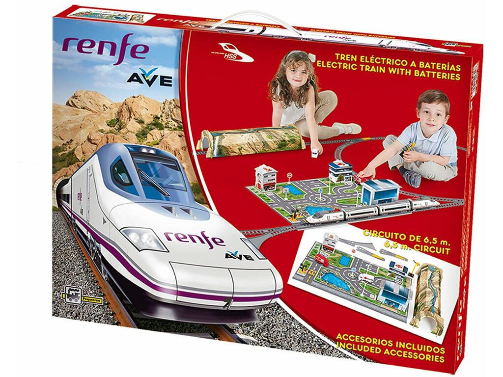Tren Renfe Ave A Escala Pequetren 720