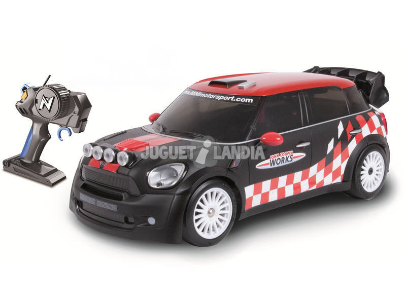 Rádio Controlo 1:16 Mini Countryman WRC