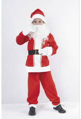 Disfraz Papa Noel Niño Talla M
