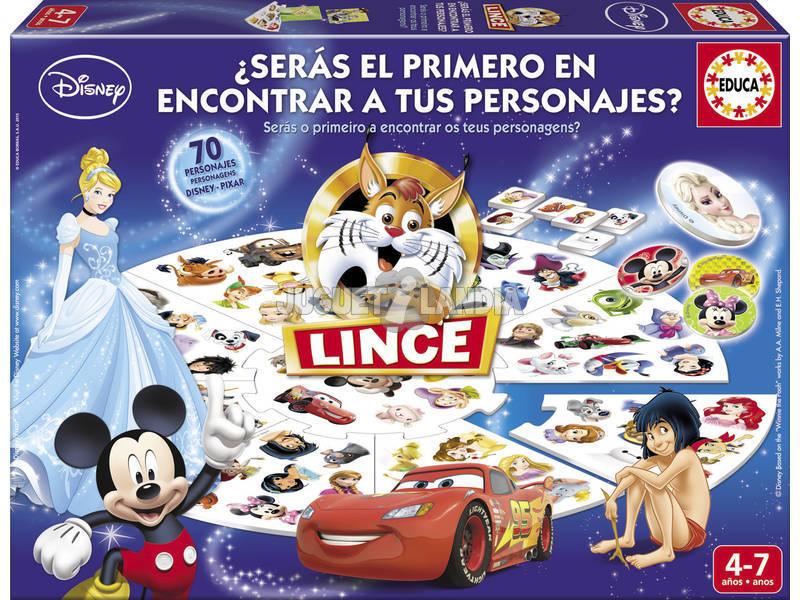 Juego De Mesa Lince Disney Educa 16585 Juguetilandia