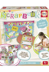 Educa Borras-Scrapbook,Kit per lavoretti creativi
