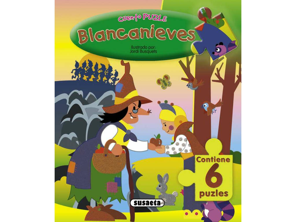 História Com Puzzle (4 Livros) Susaeta S0690