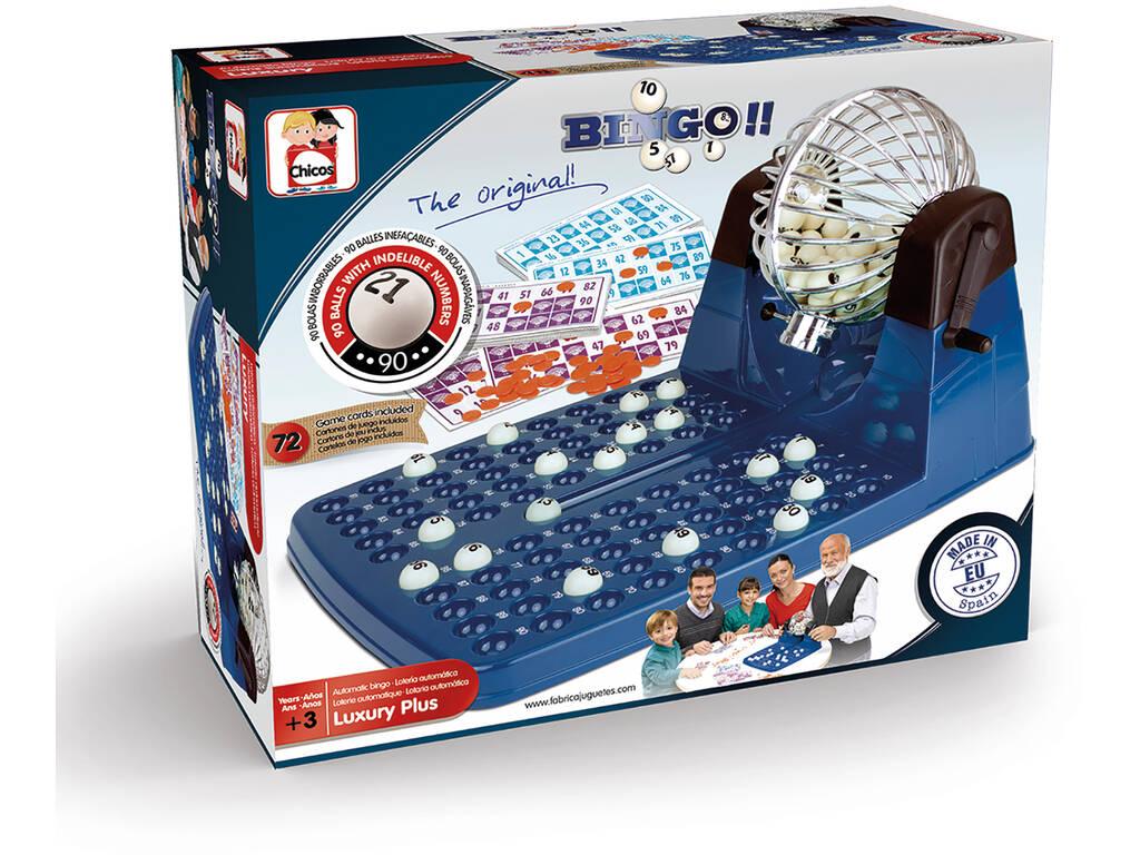 Bingo Automático Deluxe 72 Cartones Chicos 20905