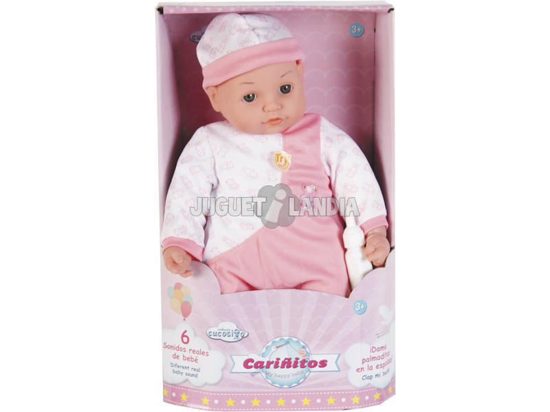 Muñecas Bebé 40 cm. cariñitos