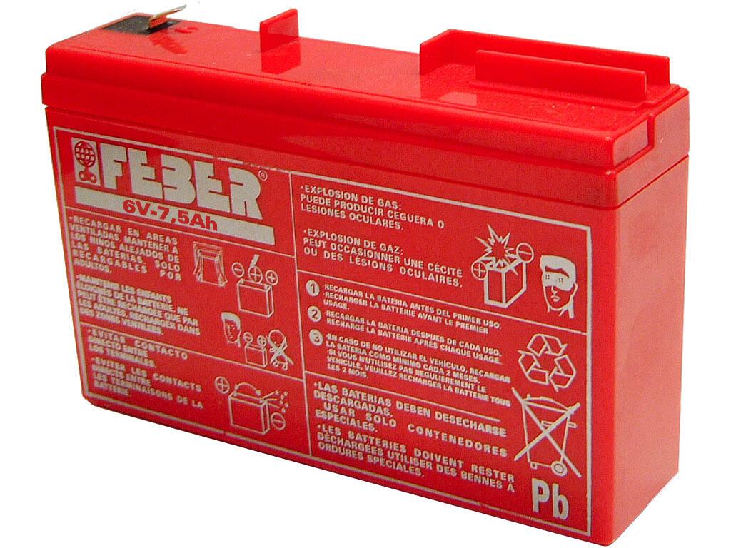 Bateria 6V 7.5 AH Famosa 800004279