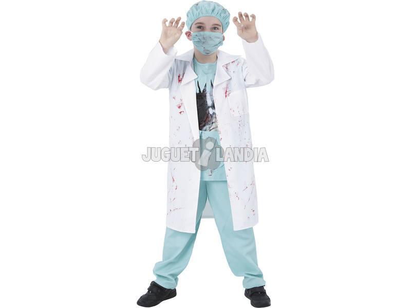 Fantasia Doutor Zumbi Menino Tamanho S