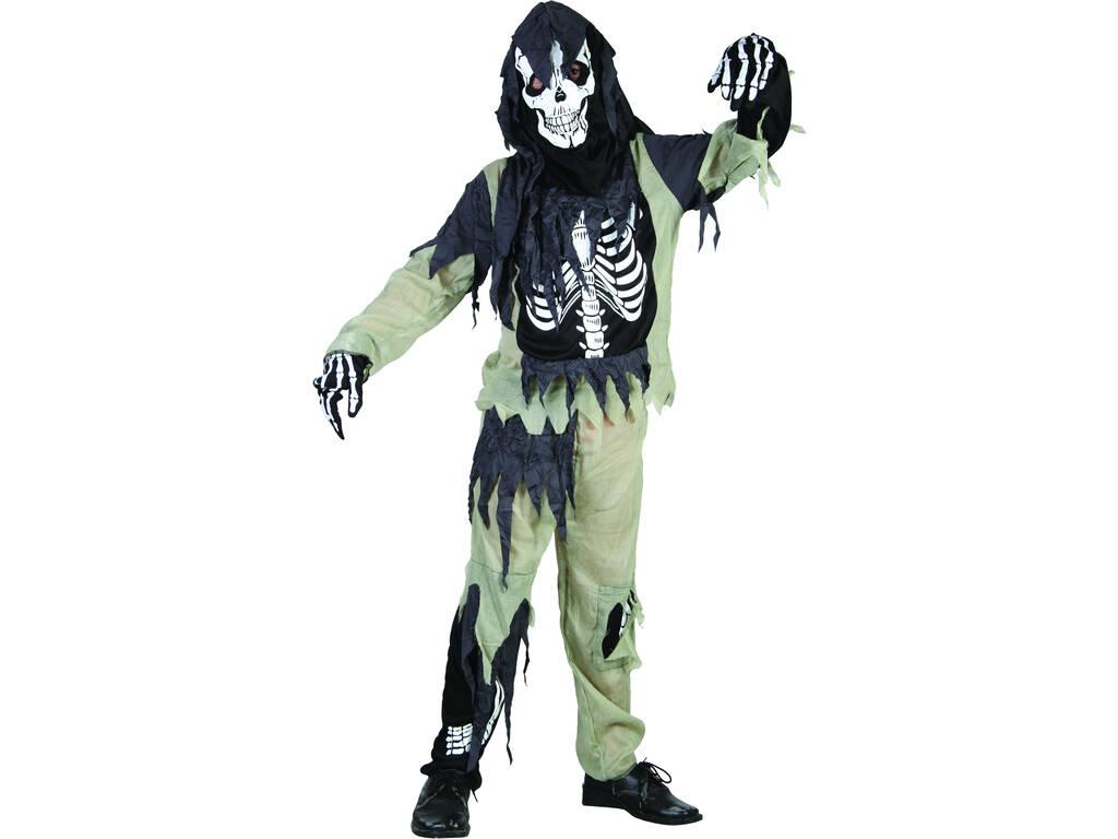 Fantasia Menino S Esqueleto Zumbi