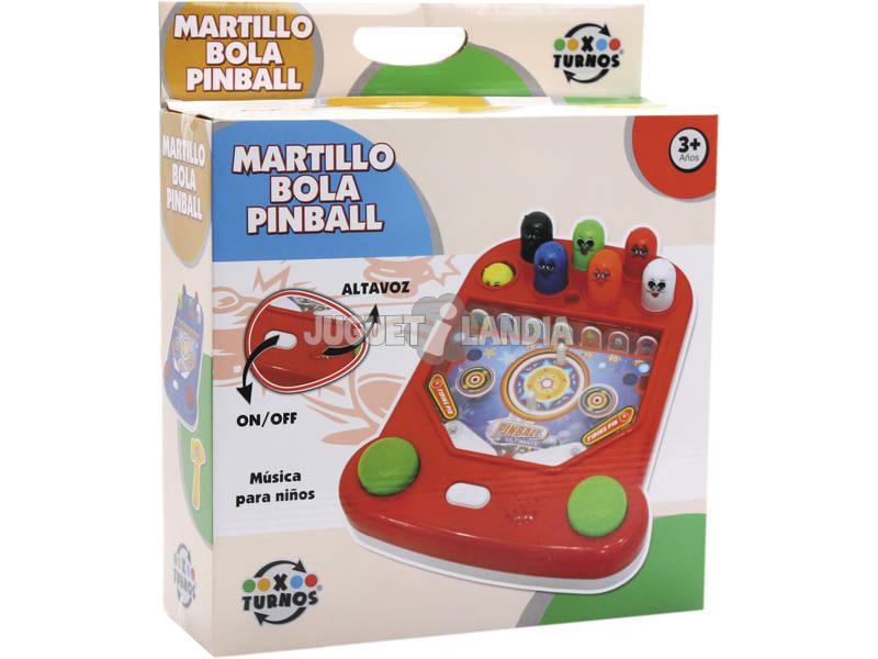 Pinball infantile et frappe le poupon