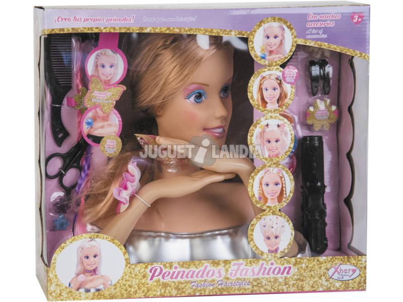 Busto Fashion Con Accesorios Peina 31x15x33cm