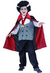 imagen Disfraz Vampiro Clasico Niño Talla L