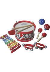 Set Musical 5 Instrumentos De Percusión