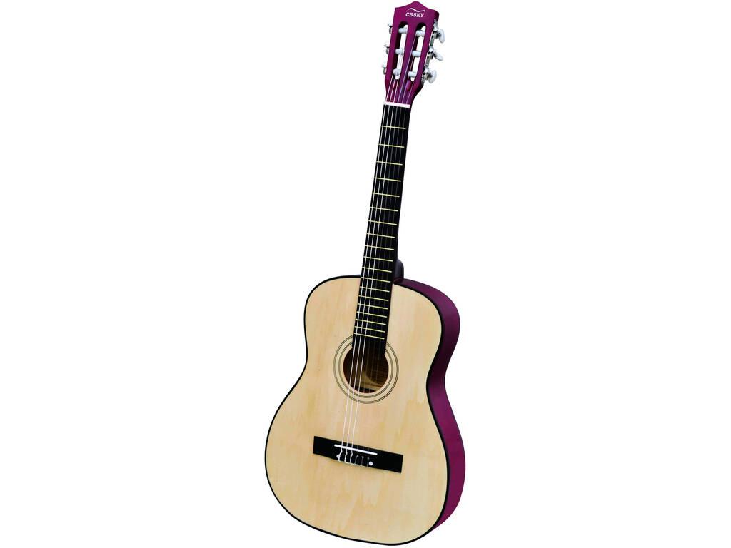 Guitarra De Madeira 91 cm.
