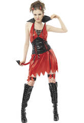 Disfraz Demonia Sexy Mujer Rojo Talla XL