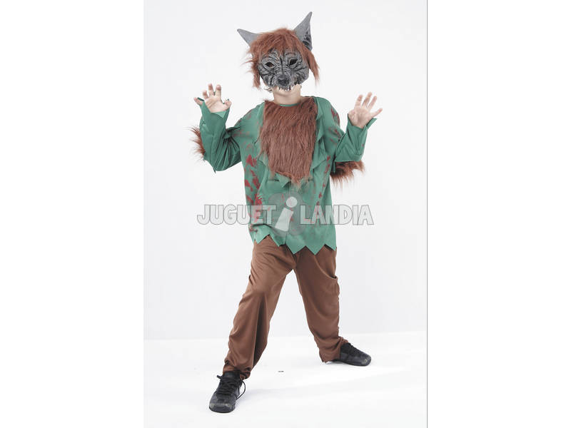 Disfraz Hombre Lobo Niño Talla M