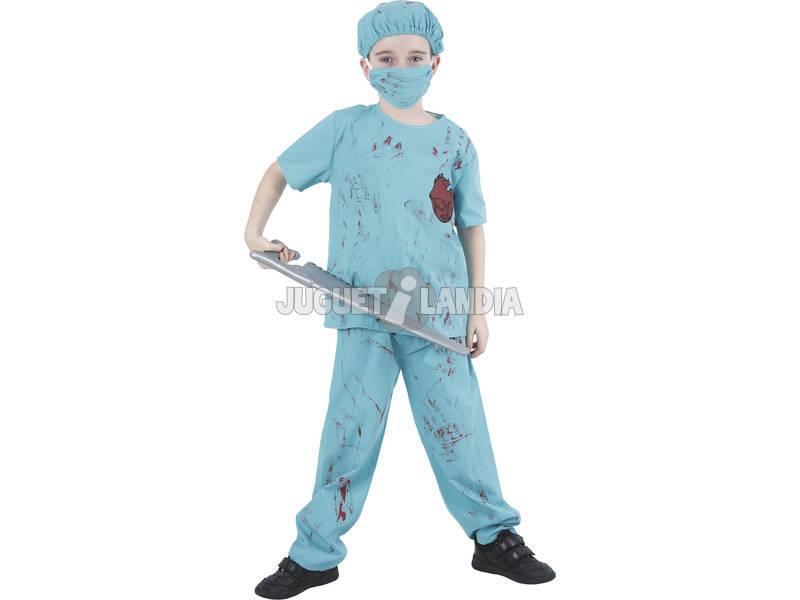 Disfraz Cirujano Sangriento Niño Talla M