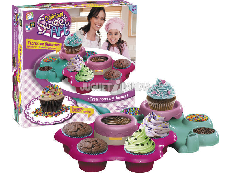 Sweet Art Fabrica de Cup Cakes