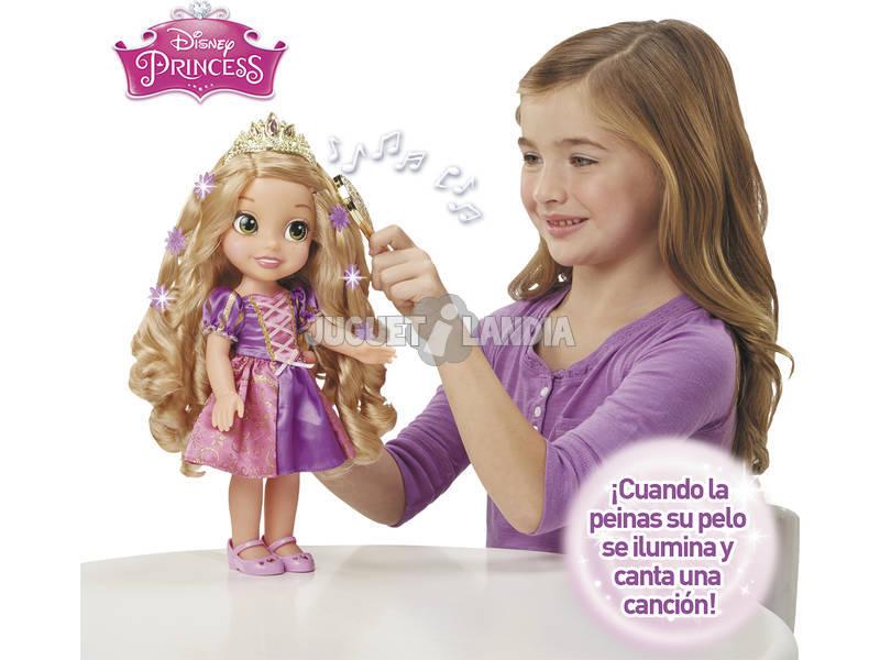 Princesa Rapunzel Peinados Luminosos