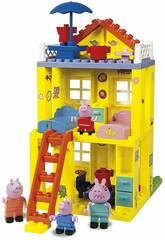 Peppa Pig Casa Bloques Construcción Simba 6063439