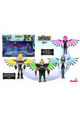 Sendokai Figurine avec armure Nero Fusion