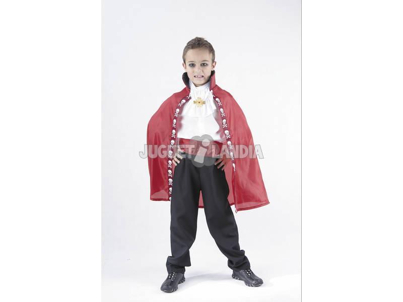 Disfraz Capa Vampiro Niño Talla L
