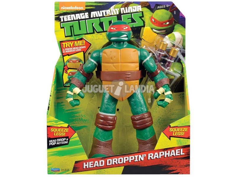 Tortugas Ninja Figura 28 cm. Head Dropping
