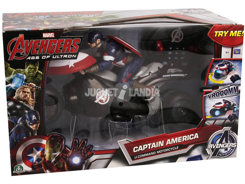 Avengers Moto U Command Capitán América