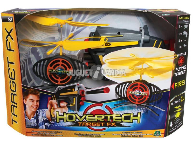 Hover Tech Drone con Lanzador pistola y dardos
