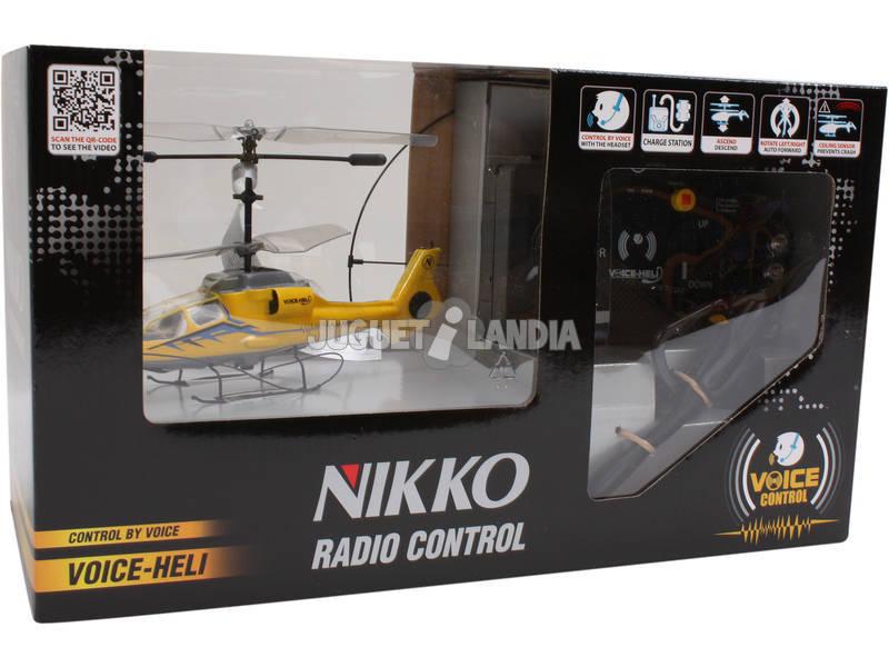Radio control helicoptero por voz Teledirigido