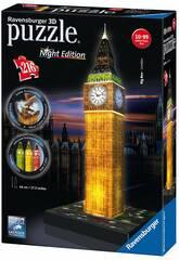 imagen Puzle 3D Building Big Ben con Luz Ravensburger 12588