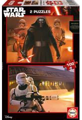 Puzzle 2x100 Star Wars VII