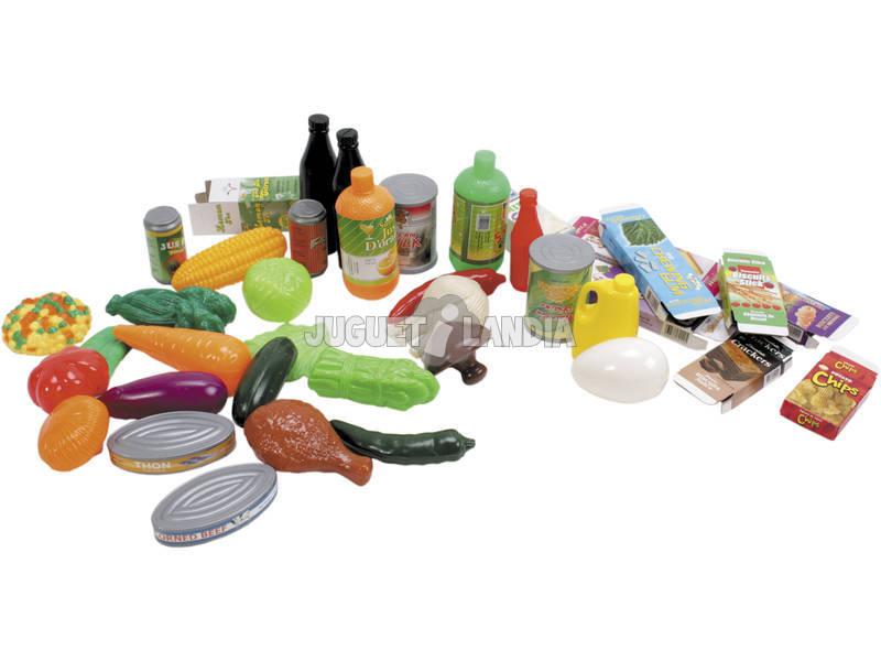 Cesto Supermercado com 40 peças