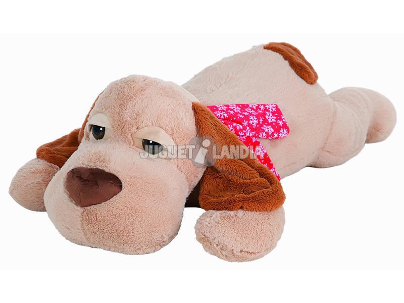 Peluche Cão Deitado Albert 125 cm