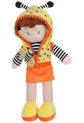 Puppenhaube Luci 38 cm